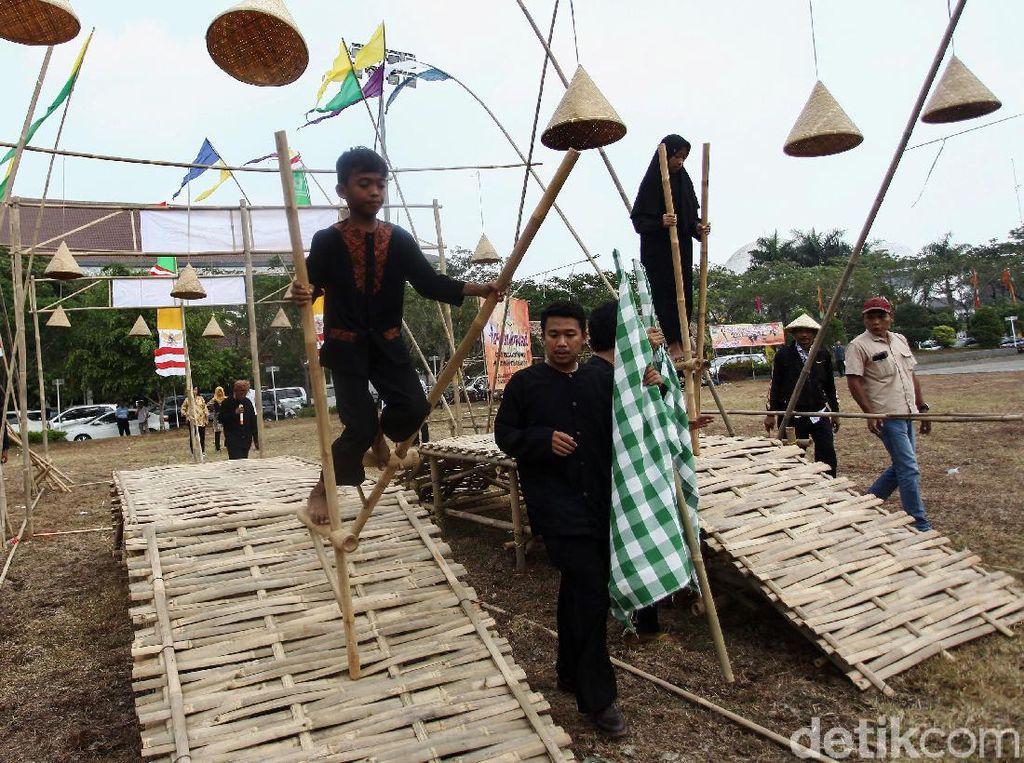 Serunya Festival Permainan Tradisional di Bekasi