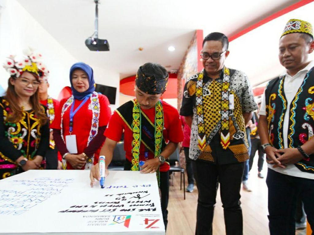 BNI Ajak Siswa Kunjungi RKB dan Wisata Budaya