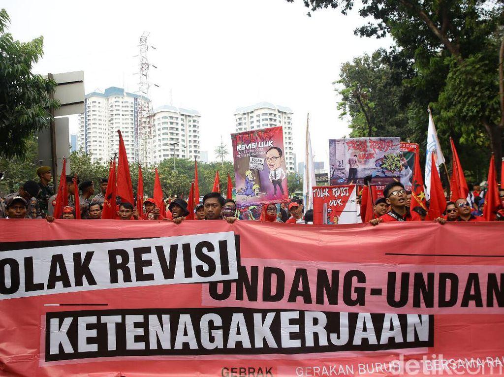 Jokowi Tunda Pembahasan RUU Cipta Kerja Klaster Ketenagakerjaan, KSPI Batalkan Demo 30 April