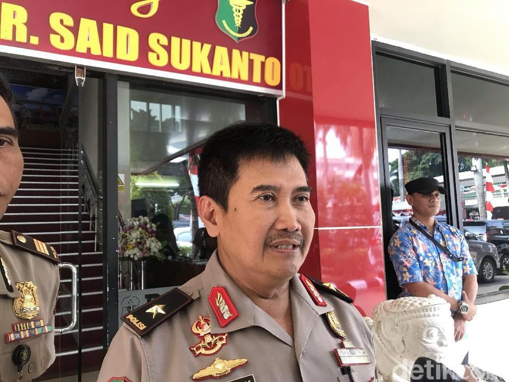 Aiptu Erwin yang Terbakar Saat Kawal Demo Dirujuk ke RSPP