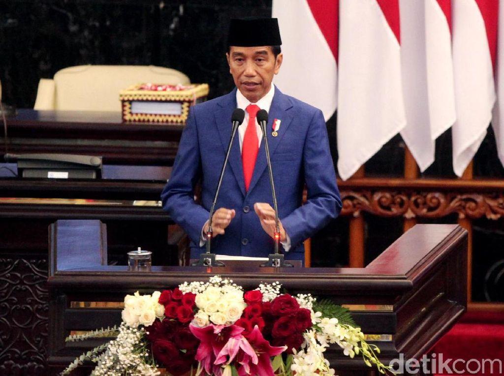 Jokowi Minta Izin Pindah Ibu Kota ke DPR