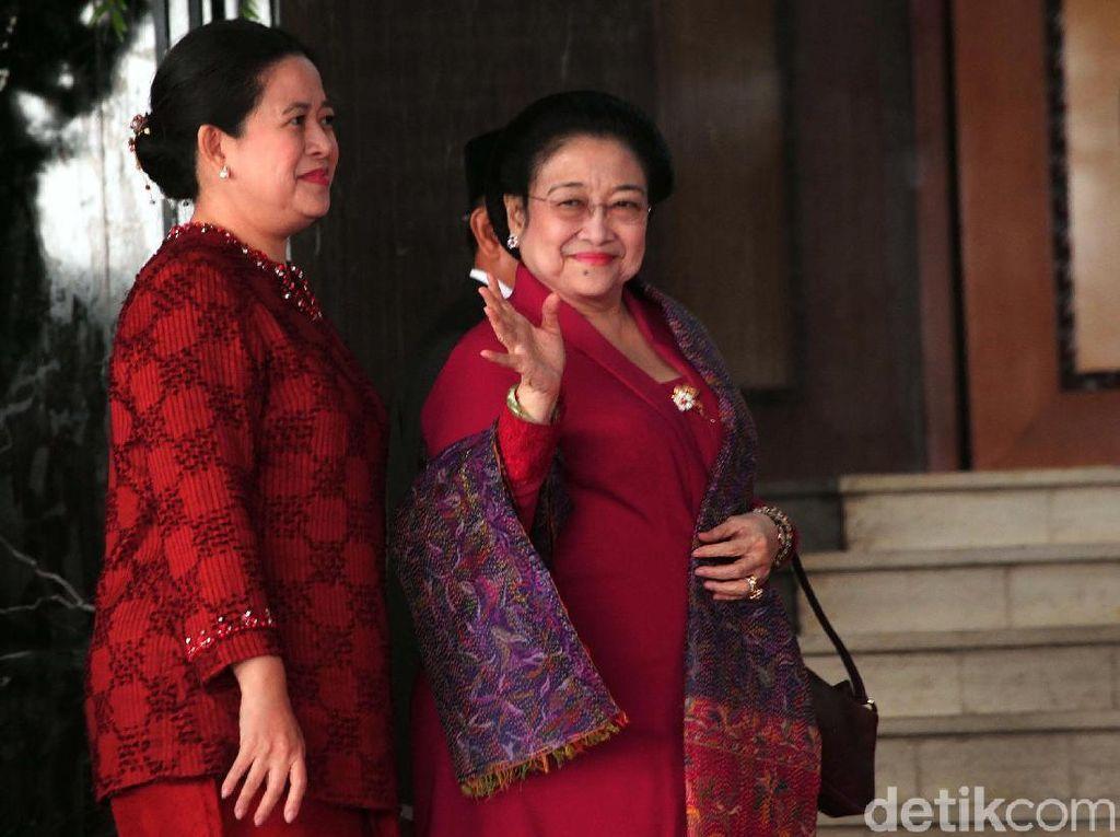 Megawati, Maruf dan Menteri Kabinet Kerja Hadiri Sidang Tahunan MPR