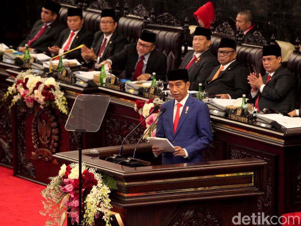 Istana: Pidato Jokowi di Sidang Tahunan MPR Adalah Unwritten Constitution