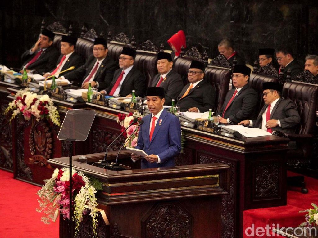 Jokowi: Rupiah Diperkirakan Rp 14.400 per Dolar AS di 2020