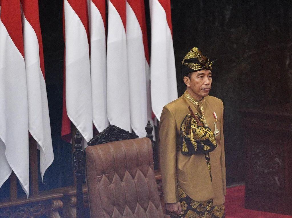 Bupati, DPRD dan Pemda Sangihe Sulut Nobar Pidato Jokowi