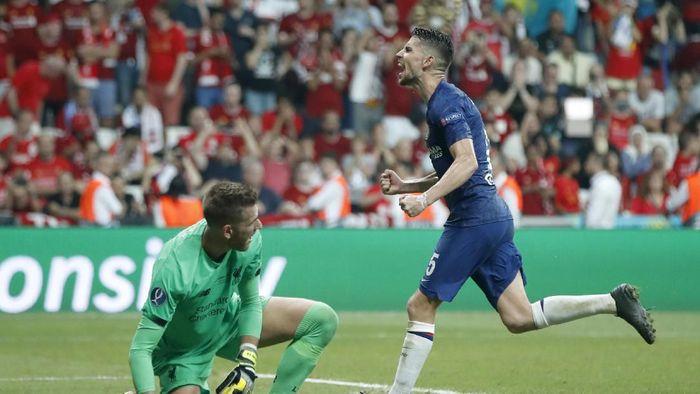 Karena Jorginho tetap bisa tampil oke tanpa kehadiran Maurizio Sarri (AP Photo/Thanassis Stavrakis)
