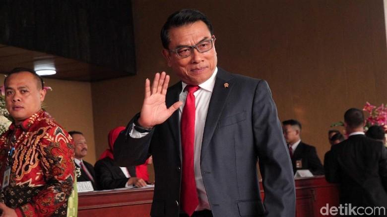 Moeldoko Pastikan 10 Capim KPK Pilihan Pansel Sudah Final