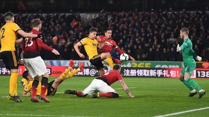 Jadwal siaran Wolverhampton vs Man United. (Foto: Michael Regan / Getty Images)