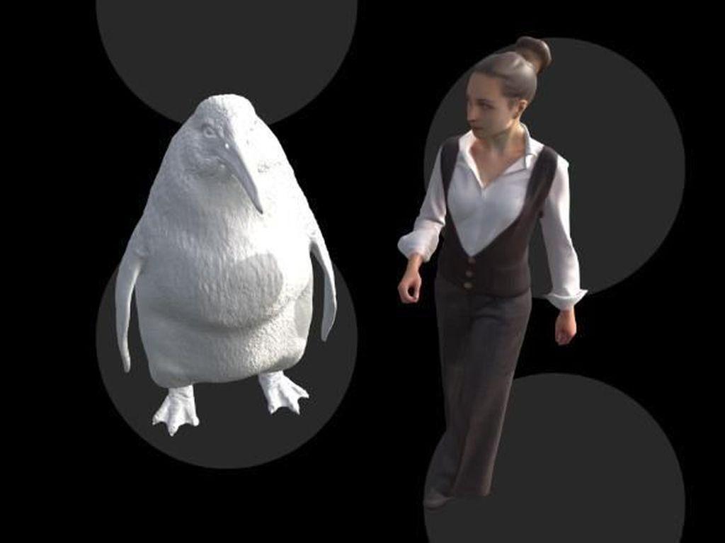 Fosil Penguin Seukuran Manusia Ditemukan di Selandia Baru