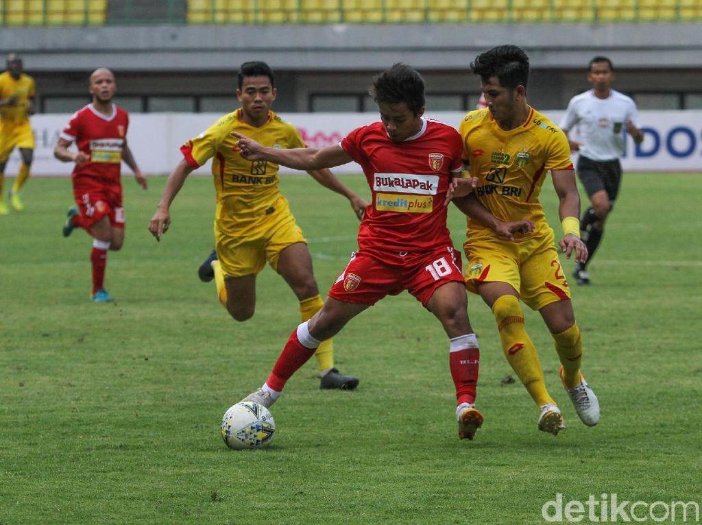 Bhayangkara FC Vs Badak Lampung: The Guardian Kalah 0-1