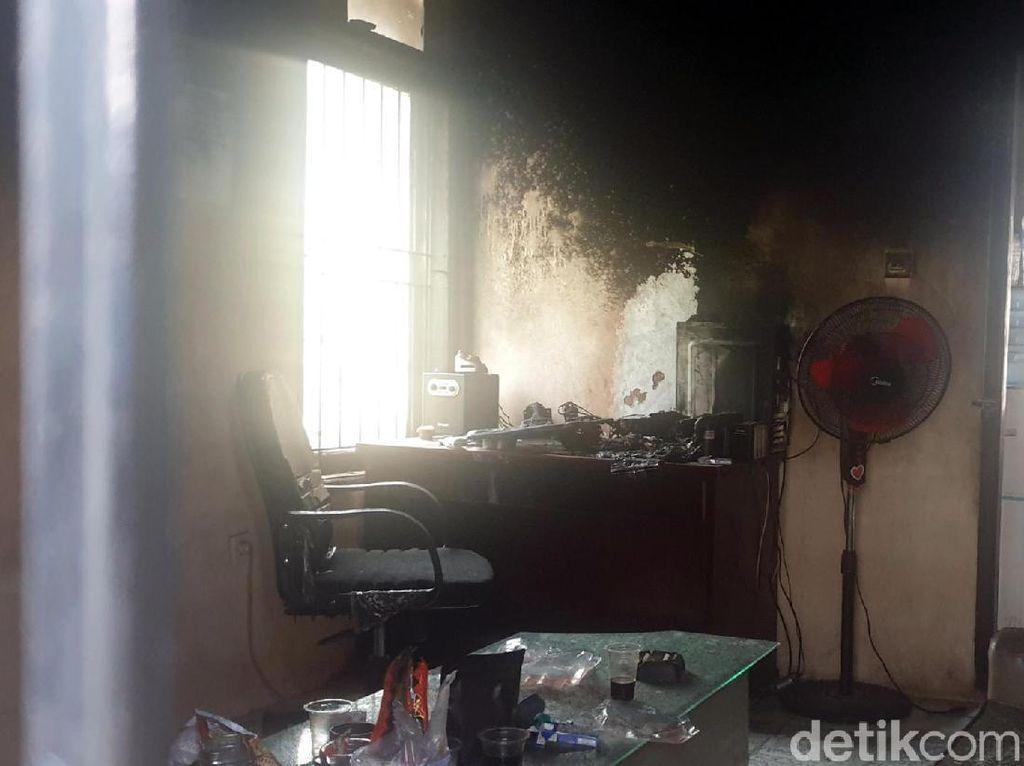 Markas GMNI Cianjur Diduga Dibakar Orang Tak Dikenal