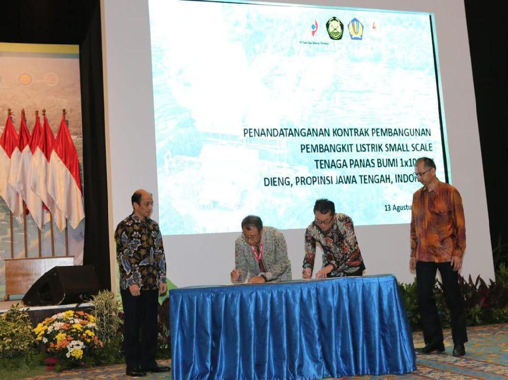 PLTP Dieng 10 MW Beroperasi Akhir 2020