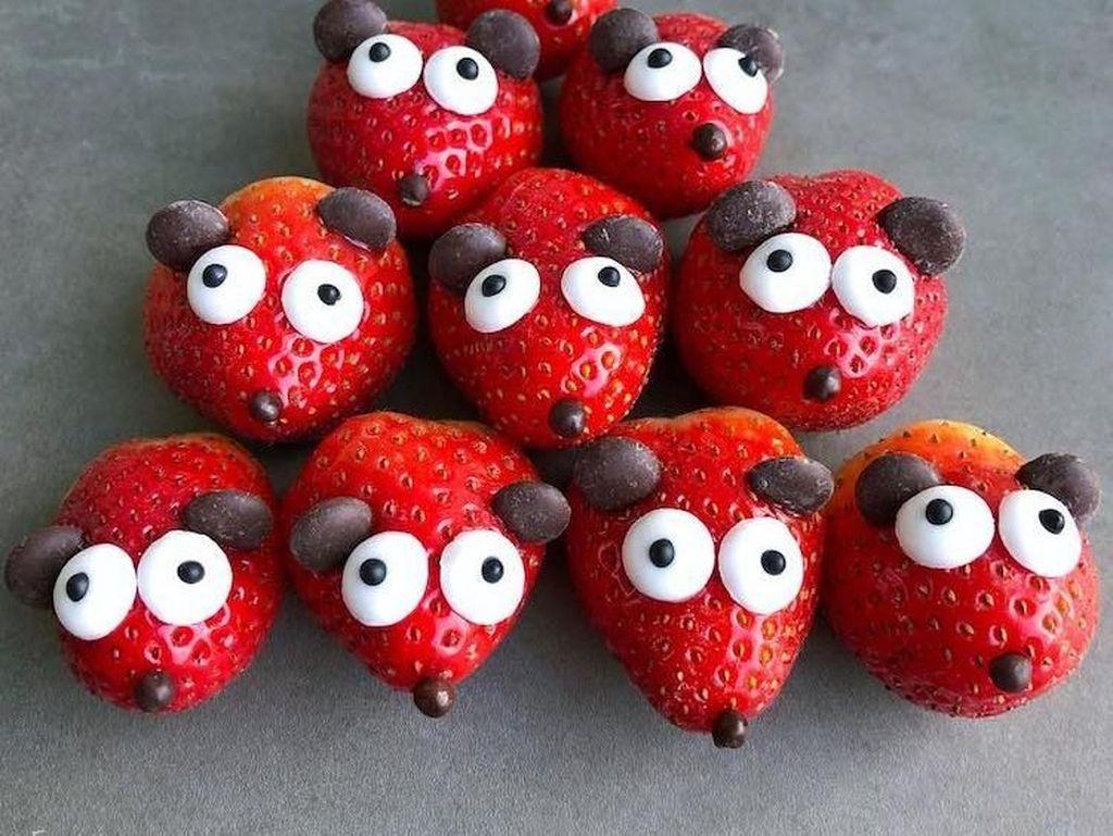 Super Gemas! Buah-buahan Ini Dibentuk Berkarakter Hewan
