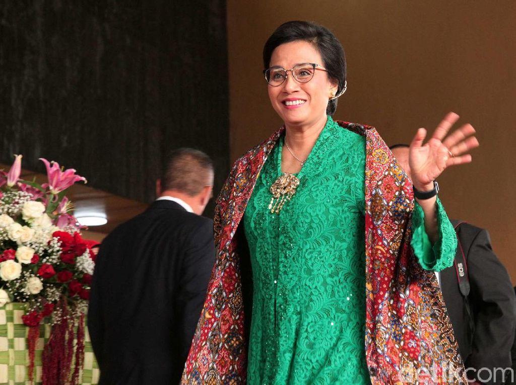 Sri Mulyani Berkebaya Hijau Nusantara di Sidang Tahunan MPR, Ini Maknanya