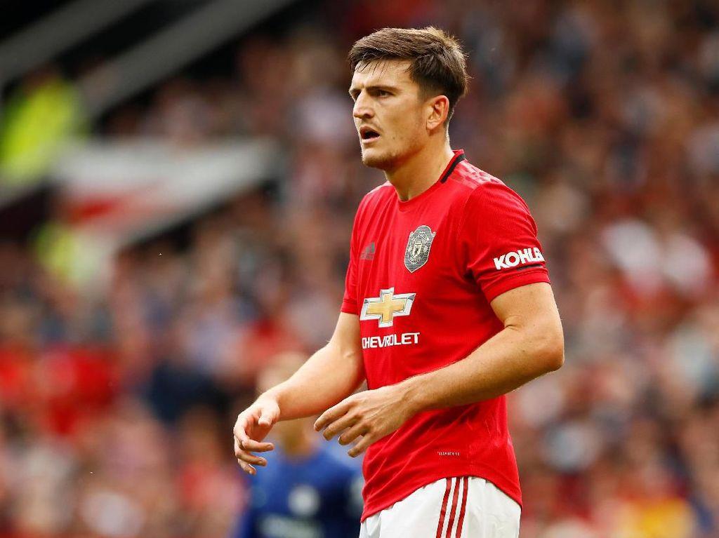 Demi Man United, Maguire Tolak Tawaran Wah dari Man City