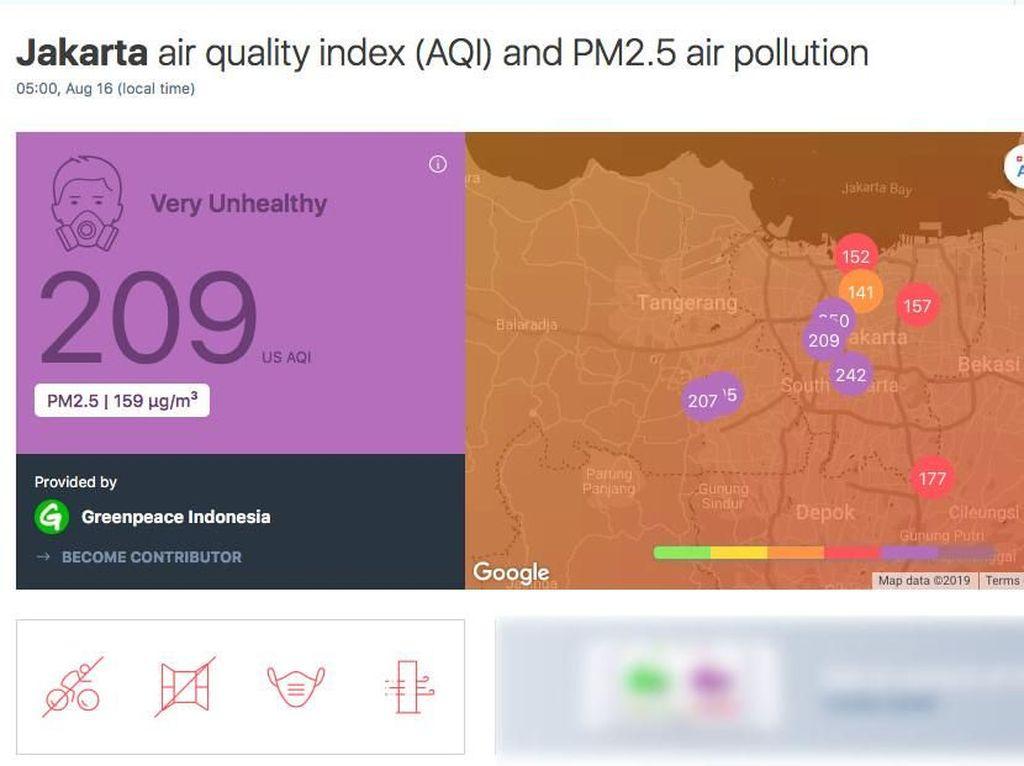 Polusi DKI Very Unhealthy, Dampaknya Bisa Dicek dengan Tes DNA