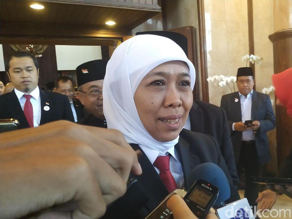 Kata Khofifah Soal Rencana Jokowi Pindahkan Ibu Kota ke Kalimantan