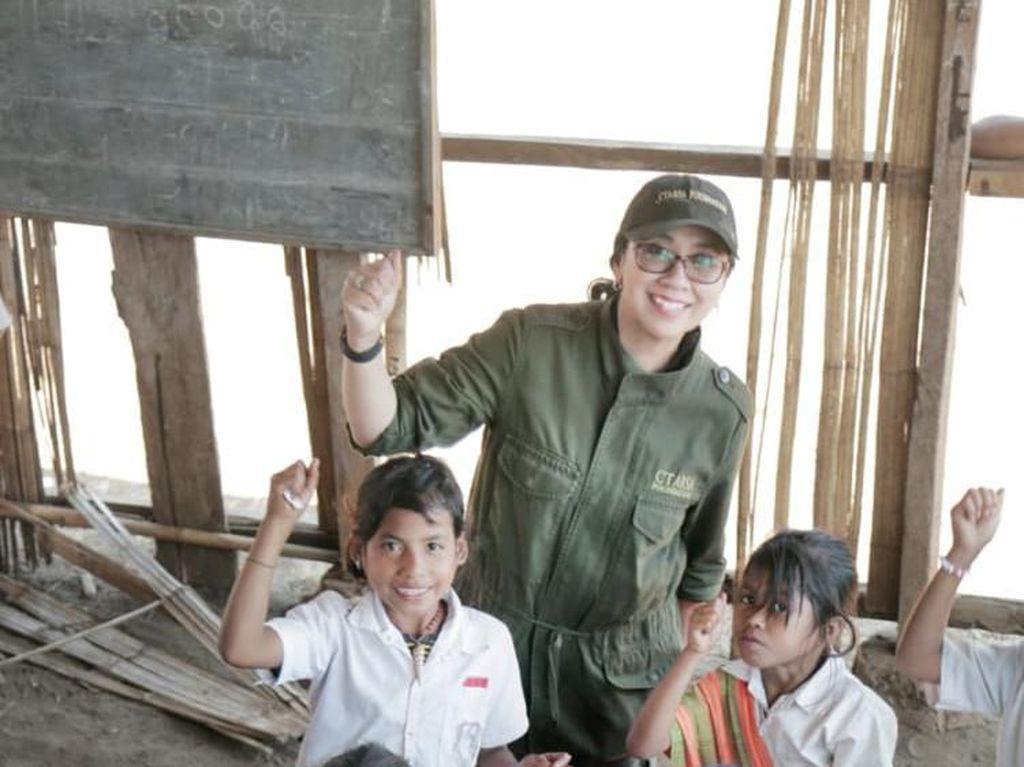 Anita Chairul Tanjung Mengisi Kemerdekaan di Tapal Batas