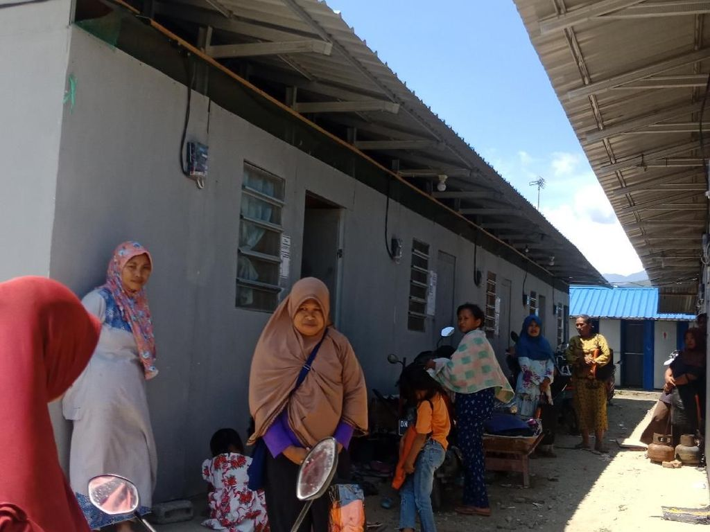 Sempat Pergi, Korban Gempa di Palu dan Sigi Kini Huni Lagi Huntara