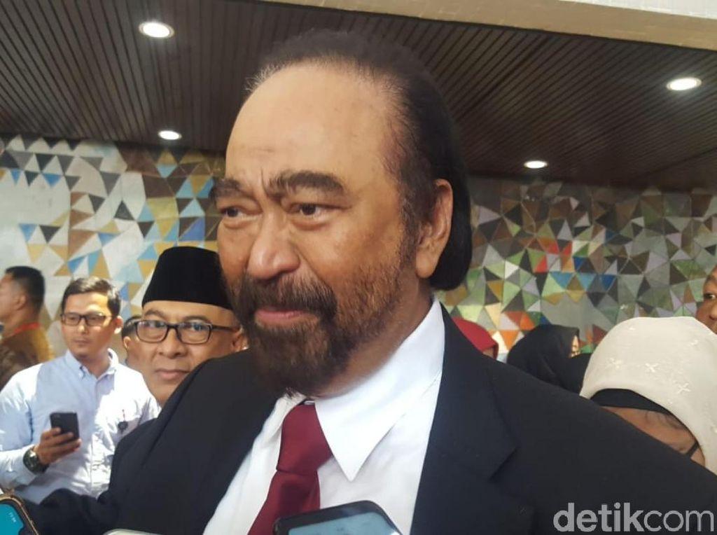 Lobi Megawati-Prabowo untuk Ketua MPR, Paloh Singgung Momen Melengos