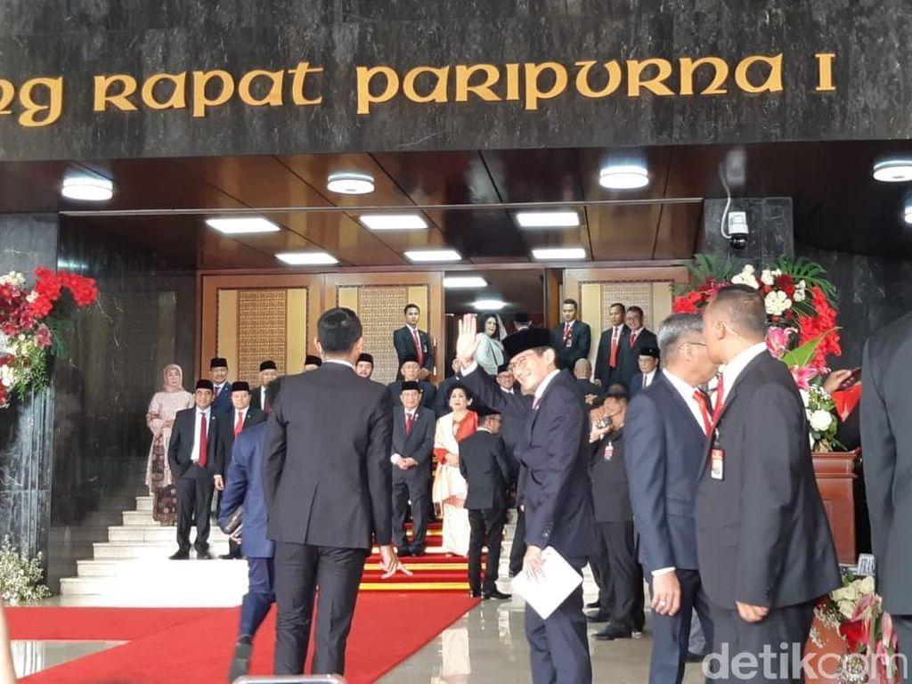 Buka Pidato Kenegaraan, Jokowi Sapa Sandiaga Sahabat Baik