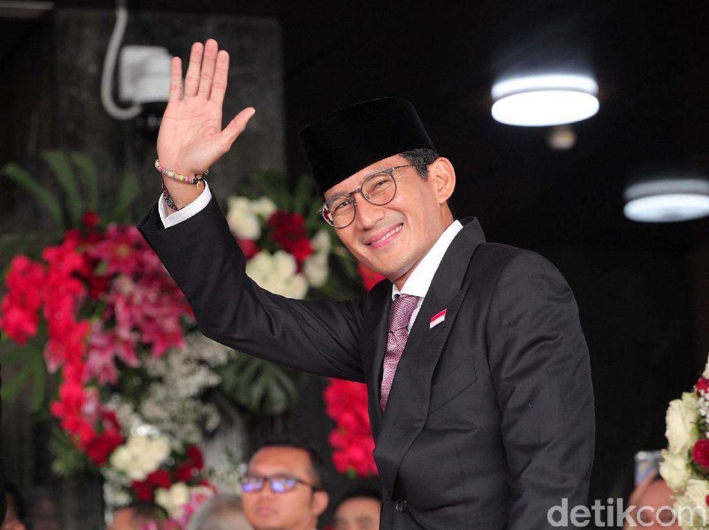 Jika Prabowo Masuk Pemerintahan, Sandiaga Dukung Nggak?