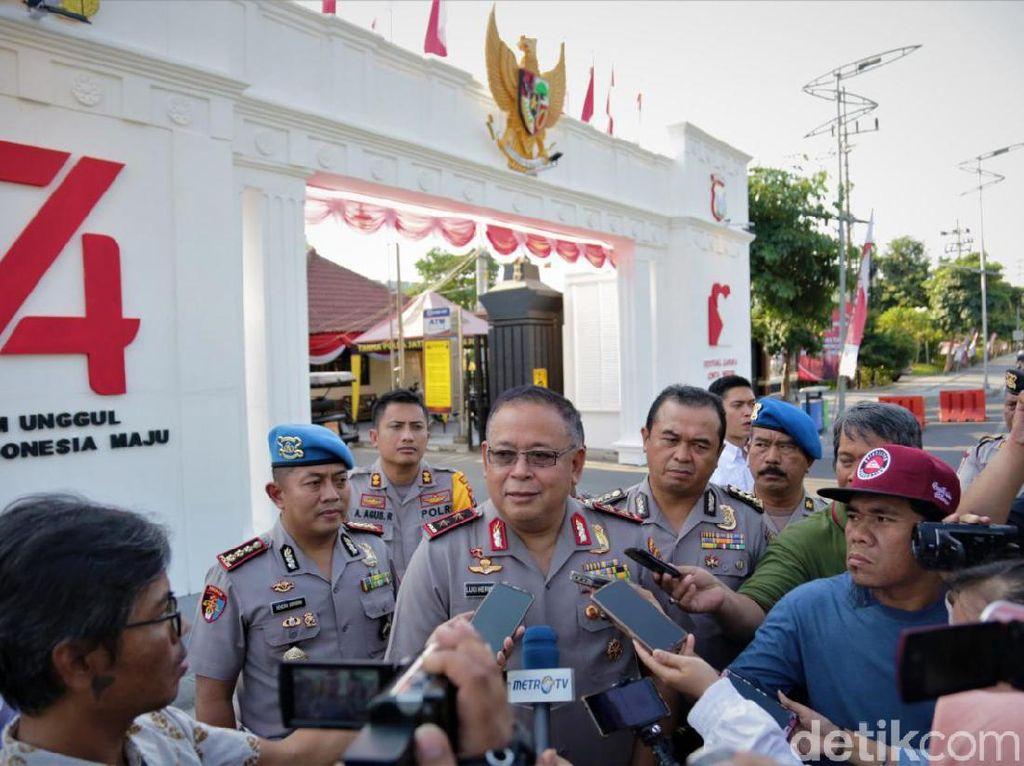 646 Gapura Cinta Negeri Persembahan Polisi di Jatim Meriahkan HUT RI