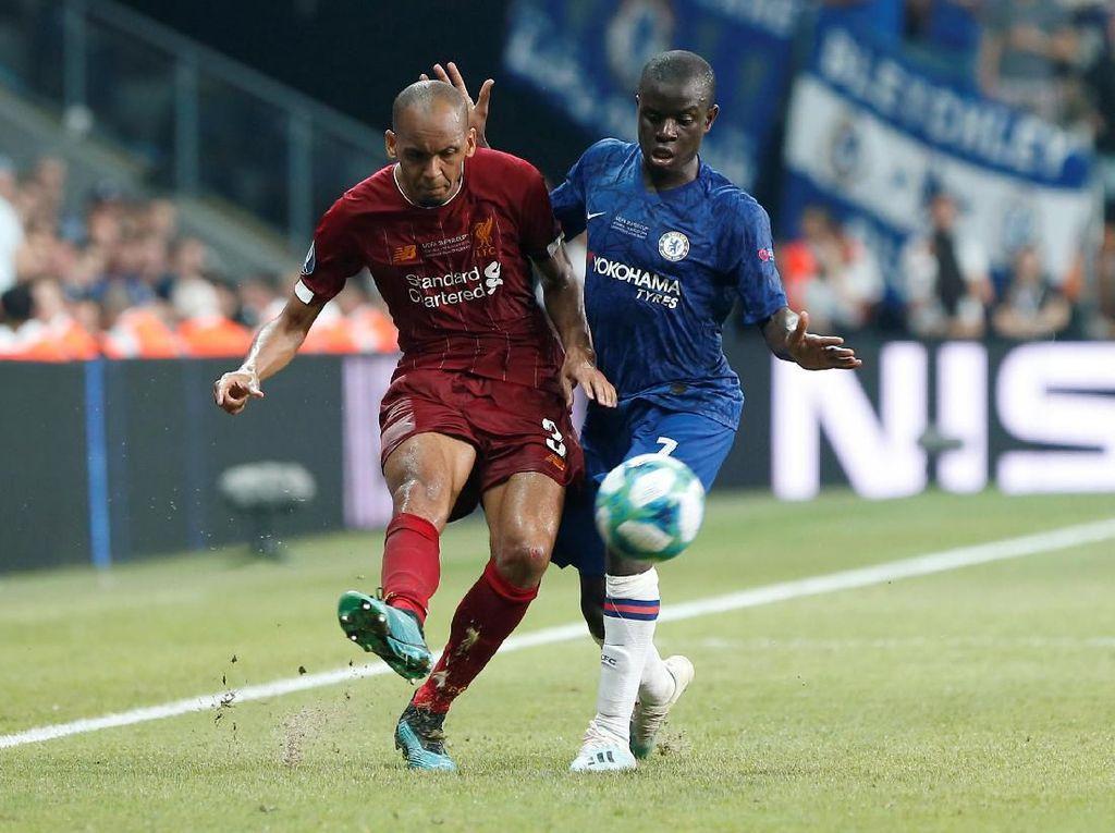 Penampilan Fabinho di Piala Super Eropa Dikecam Legenda Liverpool