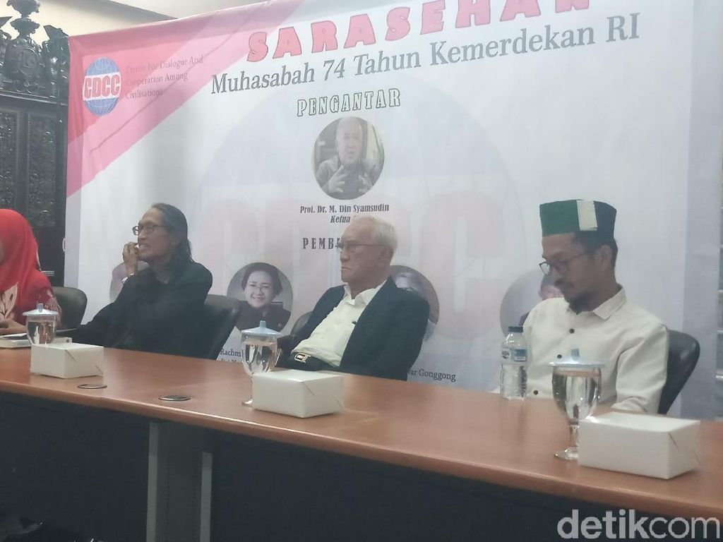 Muhasabah HUT RI Ke-74, Din Syamsudin: Ada Pergeseran Cita-cita Nasional