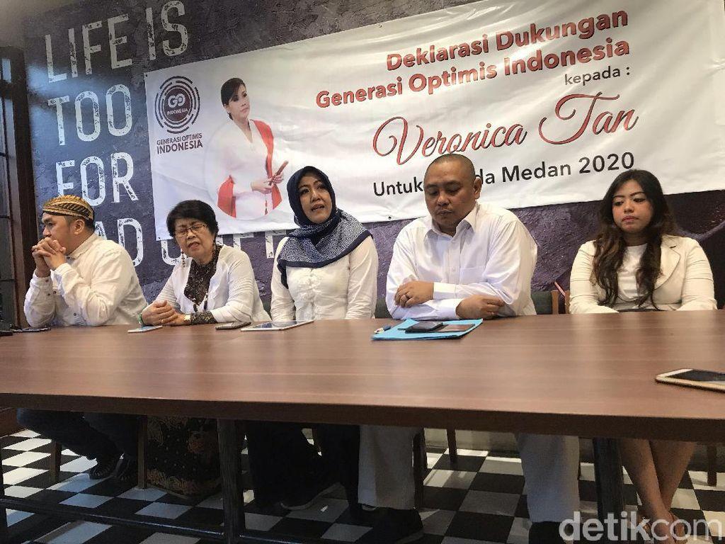 Eks Istri Ahok Veronica Tan Didukung Maju Pilwalkot Medan 2020