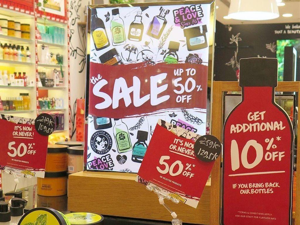 Brand Kecantikan yang Diskon Hari Kemerdekaan, The Body Shop Hingga Erha