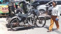 Motor Zaman Perang Dijadikan Becak, Diharapkan Tak Punah