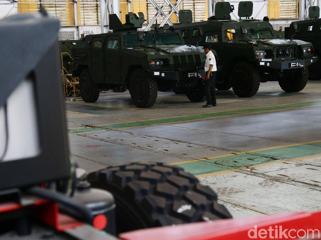 Kendaraan Tempur Made in Indonesia Dipakai Pasukan Pengaman PBB
