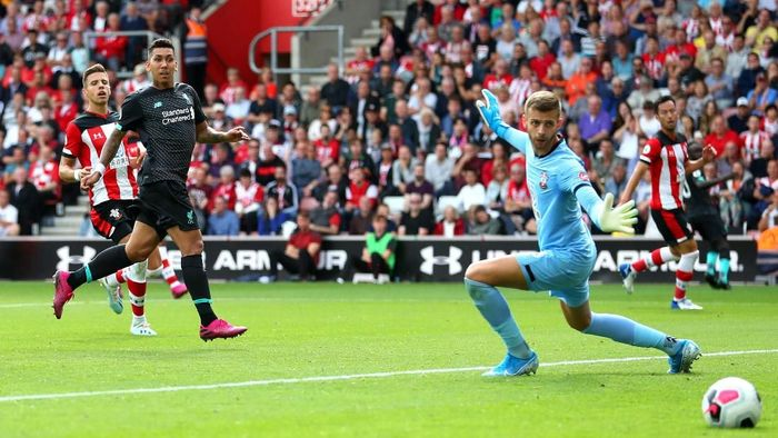 Liverpool tundukkan Southampton 2-1. (Foto: Catherine Ivill/Getty Images)