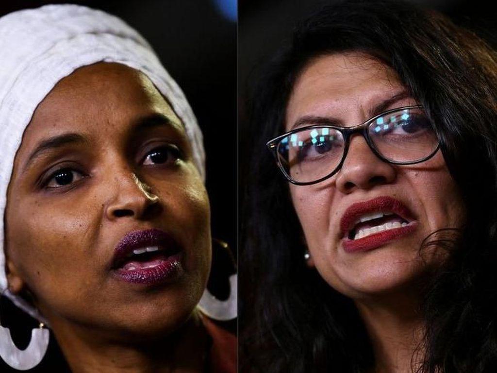 Pengkritik Keras Israel yang Dilarang Masuk: Rashida Tlaib dan Ilhan Omar