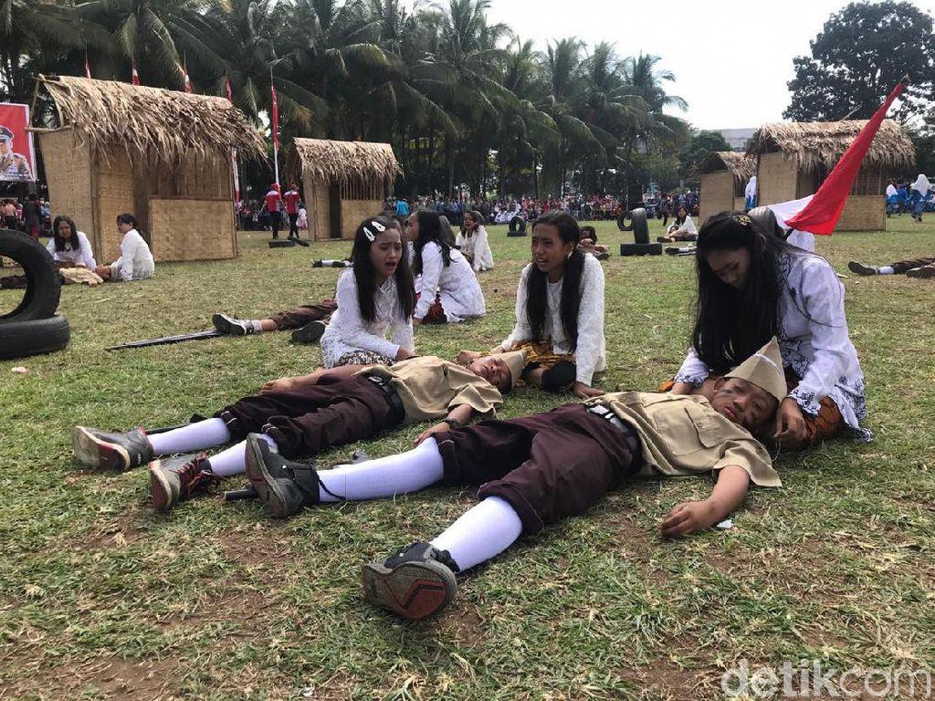 Mengenang Perjuangan Tentara Pelajar di Jember Lewat Drama Kolosal
