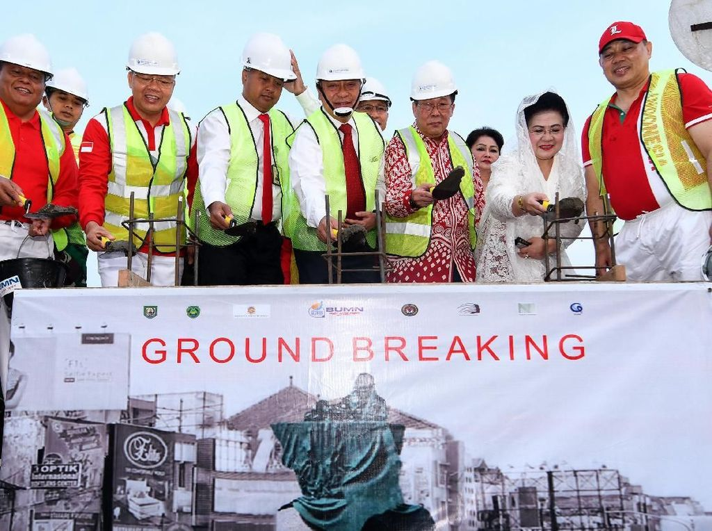 Pembangunan Patung Fatmawati di Bengkulu