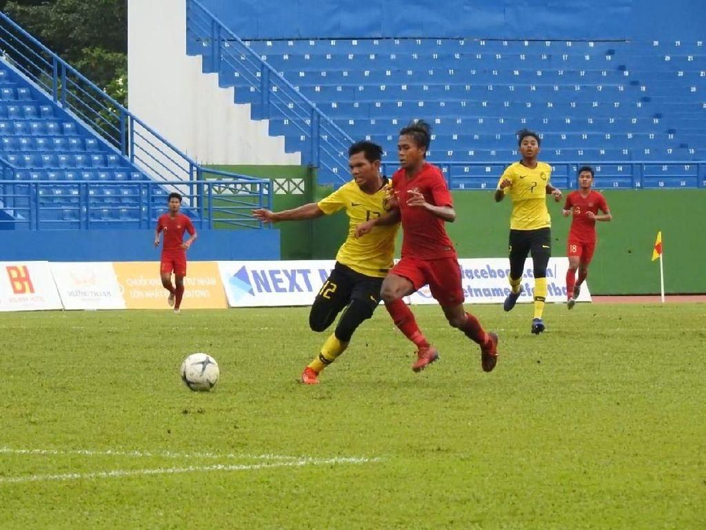 Piala AFF U-18: Indonesia Ditekuk Malaysia karena Kurang Sabar