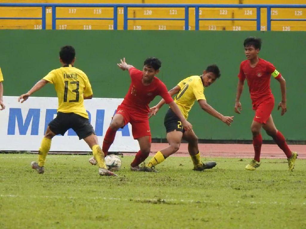Piala AFF U-18: Rapor Merah Indonesia Versus Malaysia Berlanjut