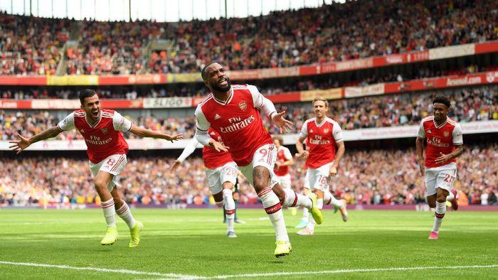 Arsenal mengalahkan Burnley 2-1 di pekan kedua Liga Inggris. (Foto: Michael Regan / Getty Images)