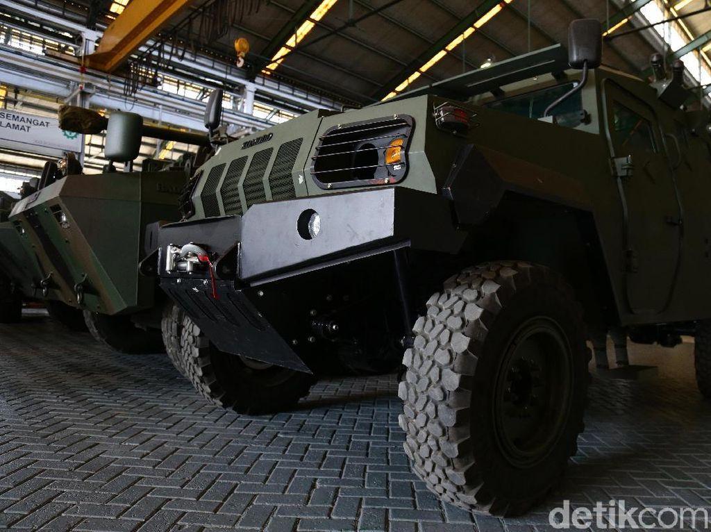 Potret Mobil Militer Karya Anak Bangsa