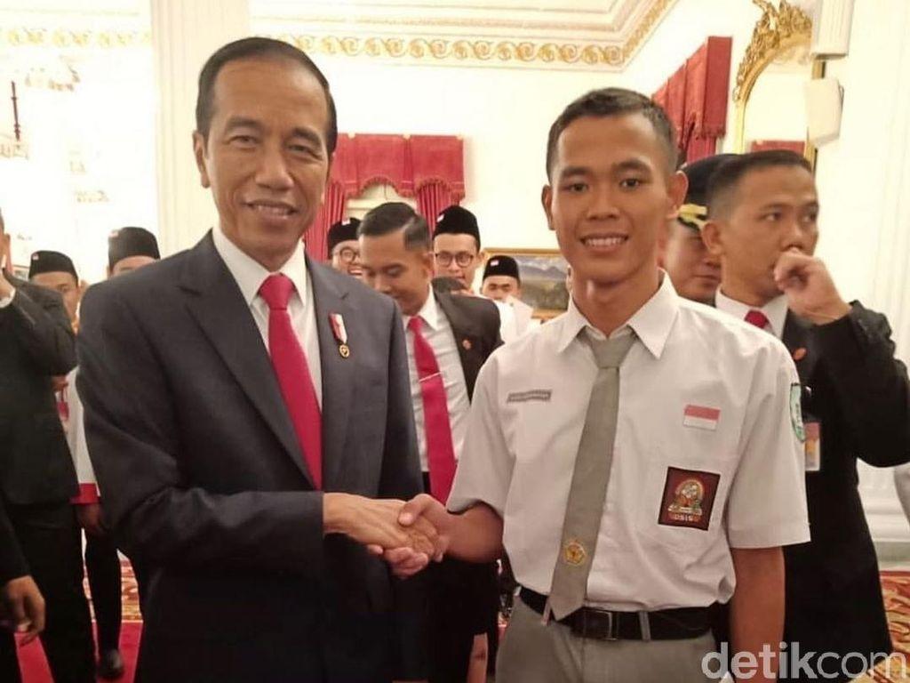 Batal Jadi Paskibra, Koko Ardiansyah Bertemu Jokowi di Istana