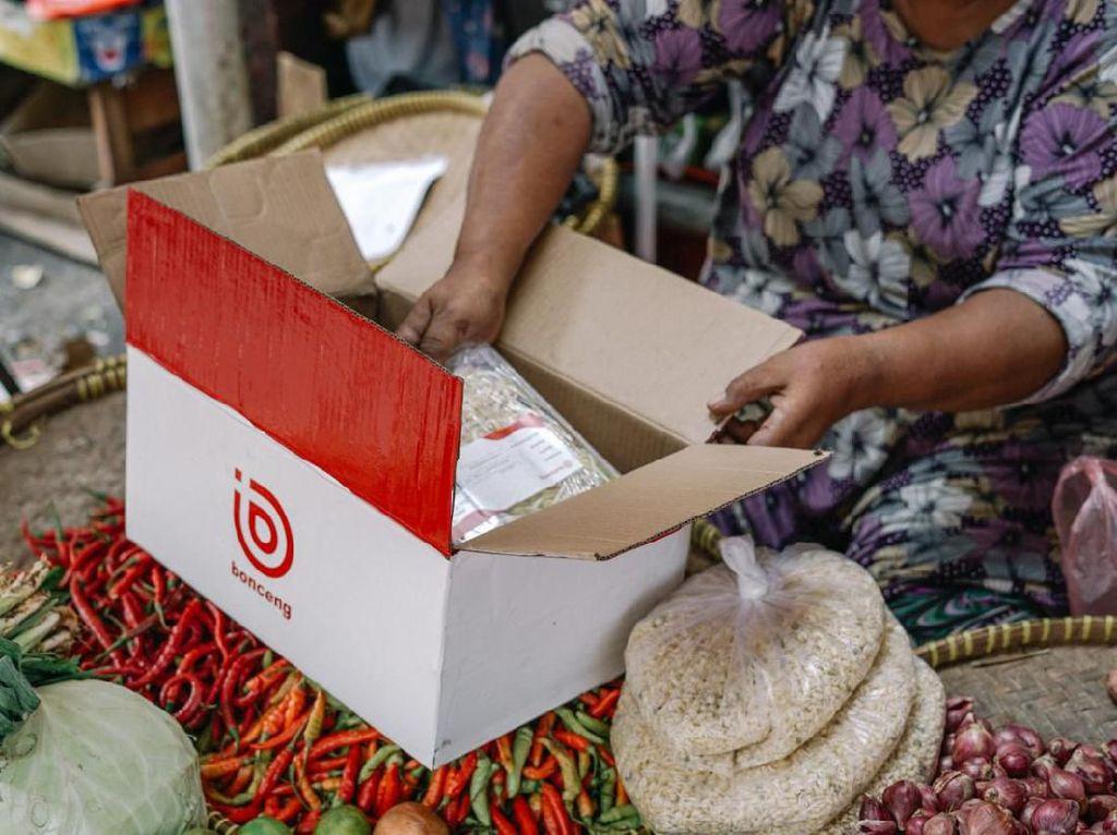 Ojek Online Ini Lirik Peluang di Pasar Tradisional