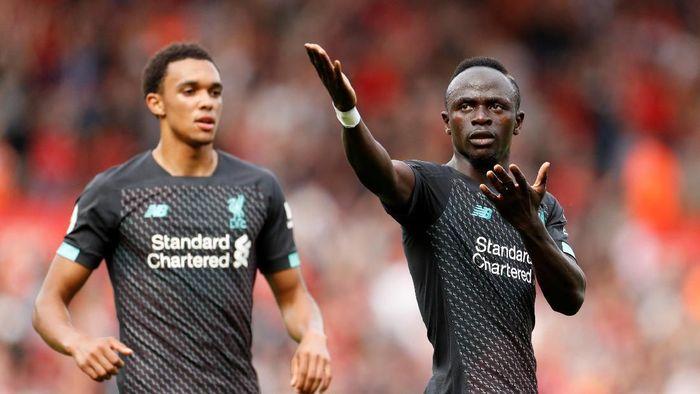 Pemain Liverpool, Sadio Mane, mencetak gol ke gawang Southampton. The Reds menang 2-1. (Foto: John Sibley/Action Images via Reuters)