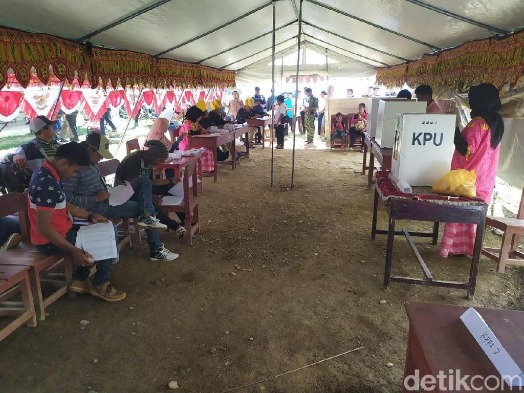 PSU di Bolobia Lancar, KPU Sigi Tetapkan Kursi dan Calon Terpilih Besok