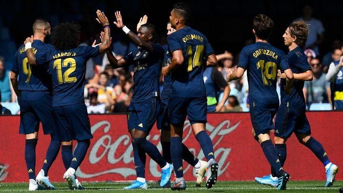 Real Madrid menjamu Real Valladolid di pekan kedua Liga Spanyol. (Foto: Octavio Passos/Getty Images)