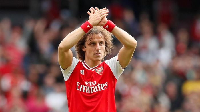 David Luiz telah bikin debut di Arsenal. (Foto: David Klein/Reuters)
