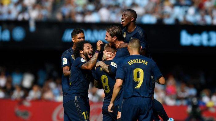 Real Madrid berhasil mengalahkan Celta Vigo 3-1 (Foto: Octavio Passos/Getty Images)