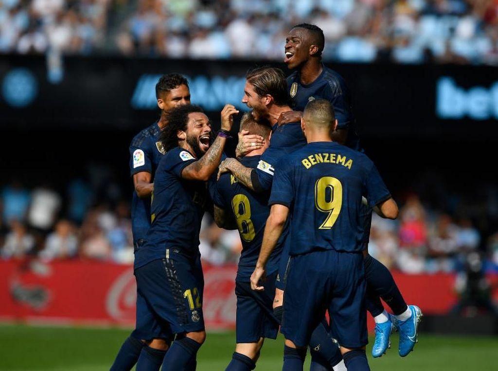 Celta Vs Madrid: El Real Buka Musim dengan Kemenangan 3-1