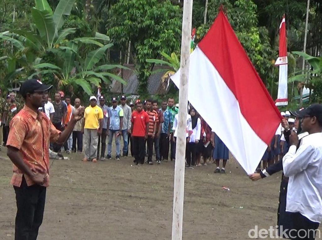 Semangat Kemerdekaan dari Desa Terpencil di Papua